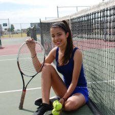Anna Paula, número uno en tennis