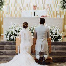 Kritzel y Gerardo unidos en matrimonio