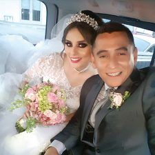 Unidos en matrimonio: Claudia Patricia  y Rubén Alejandro