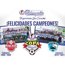 Mineros y Jaivos levantan alto  la Primera Copa Blanquita