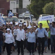 Juanita Sánchez y Gerardo Peña reafirman compromiso con Reynosa