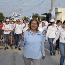 La toma de decisiones será en base a necesidades ciudadanas: Juanita Sánchez