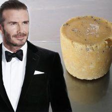 ¿Comprarías un queso hecho con la piel muerta de los pies de Beckham?