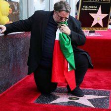 Del Toro inmortalizado con una estrella en Hollywood