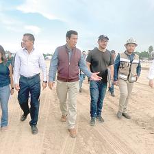 Millonaria inversión a Matamoros para obras públicas