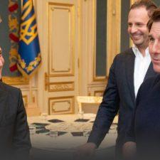Tom Cruise impresiona al presidente de Ucrania.